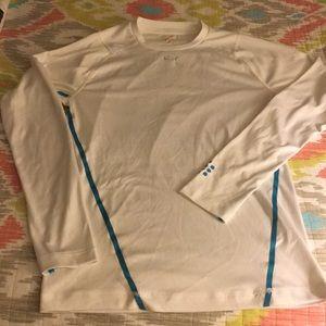 Puma long sleeved work out shirt. Women's size M